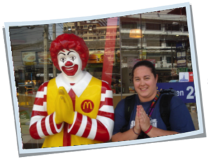 Photo: Stopping for lunch at McDonalds in Pattaya, Thailand.