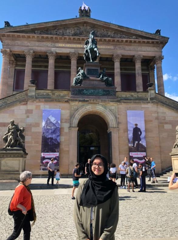 Blog Image For Yearning for Philadelphia: a Student Spotlight on Zienab Rouissiya