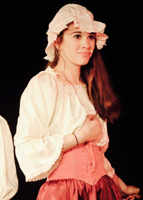 Isabella Hanson Acting in a Co-op Theater Production
