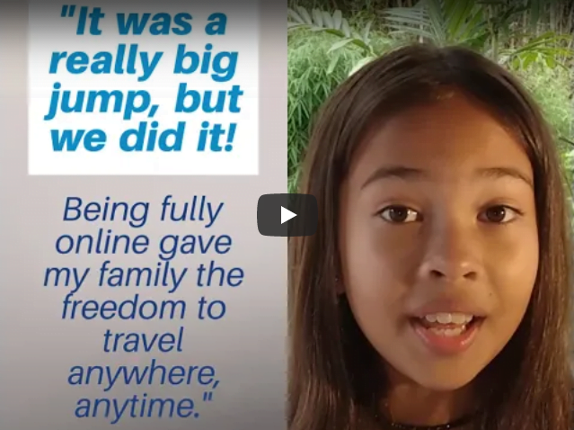 Blog Image For Ell Shares Why She Chose Online School at IVLA
