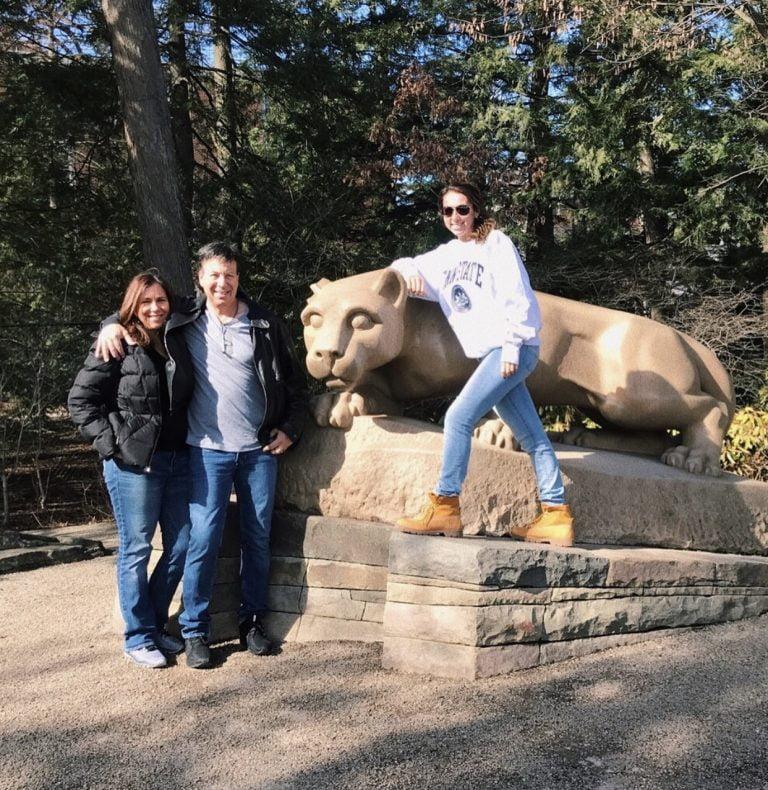 Alumni Lindsay Lampert, beginning her new collegiate career at Penn State!